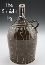 Traditional straight jug shape